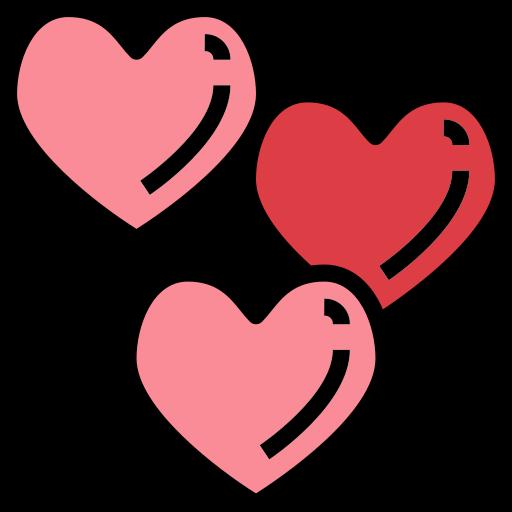 Hearts  free icon