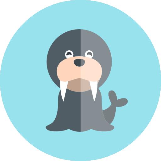 바다 코끼리  무료 아이콘