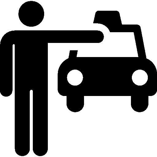taxi  Icône gratuit