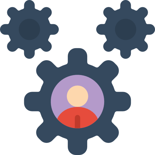 Cogs  free icon