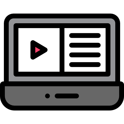 비디오 재생 목록  무료 아이콘