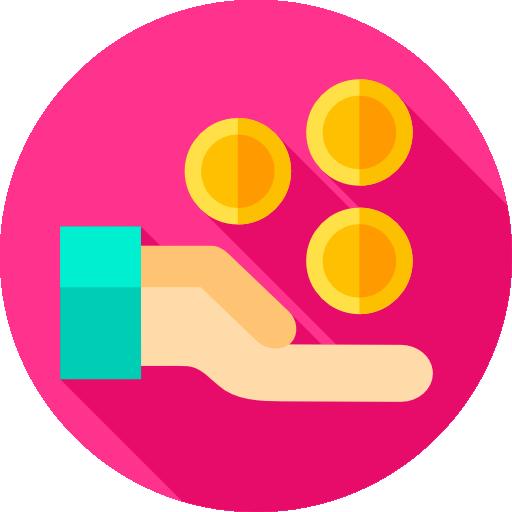 ganar dinero  icono gratis