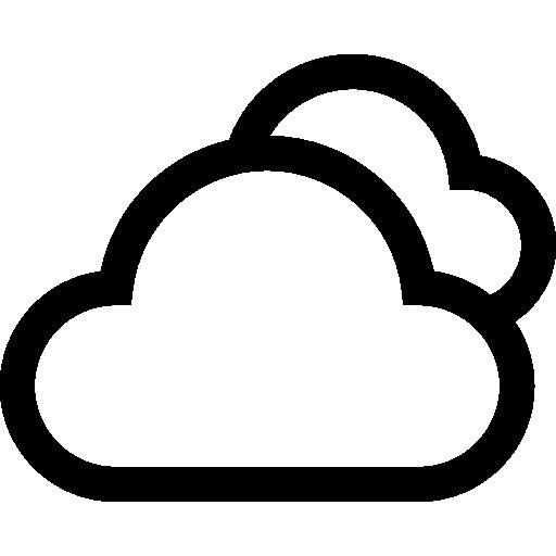 des nuages  Icône gratuit