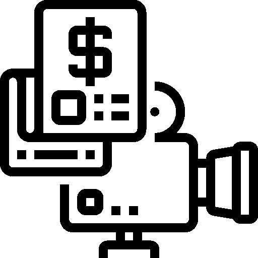 영화 예산  무료 아이콘