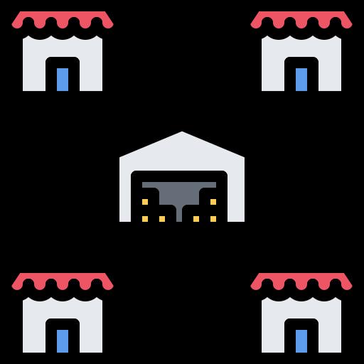 Stores  free icon