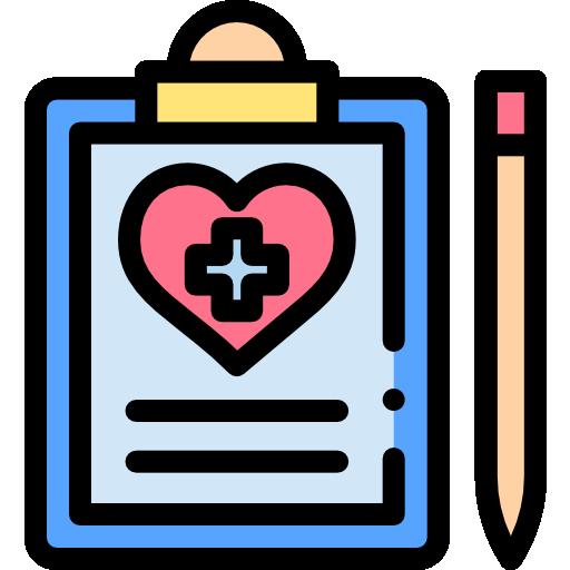 dossier médical  Icône gratuit