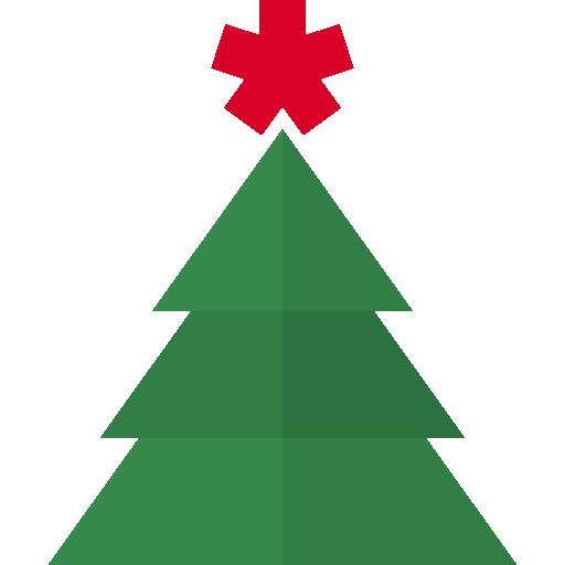 Christmas tree  free icon