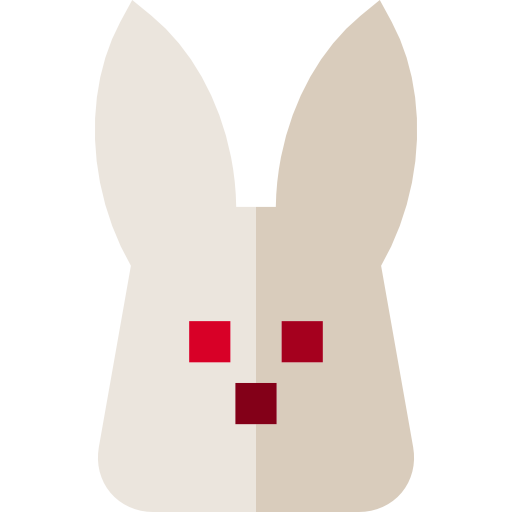 Easter bunny  free icon