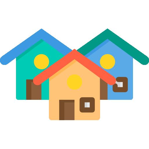 마을  무료 아이콘