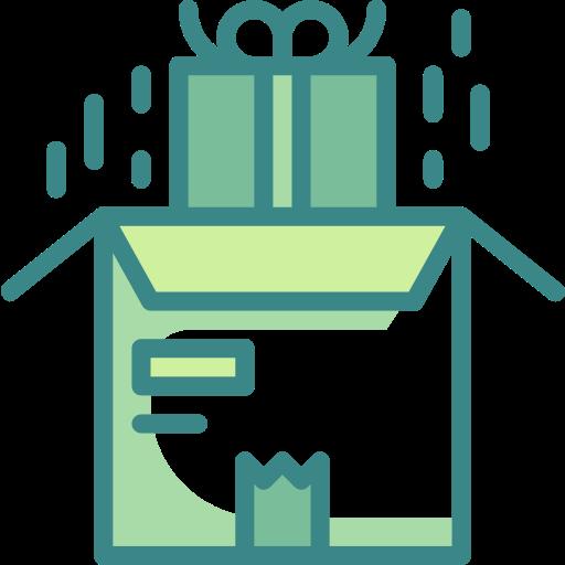 Коробка пакета  бесплатно иконка
