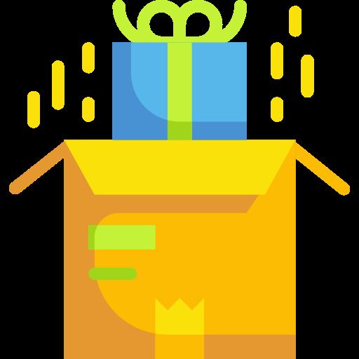 패키지 상자  무료 아이콘