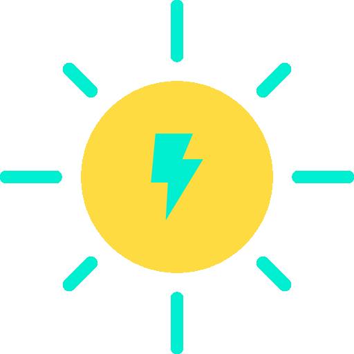 dom energía  icono gratis