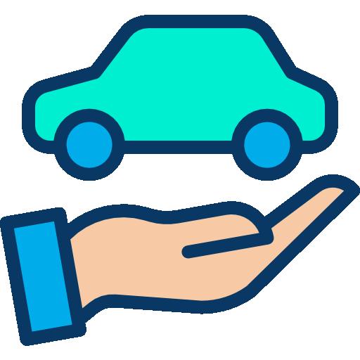 자동차 보험  무료 아이콘