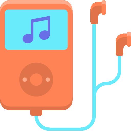 lecteur de musique  Icône gratuit