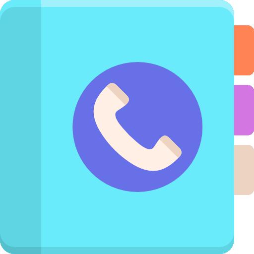 contacts  Icône gratuit