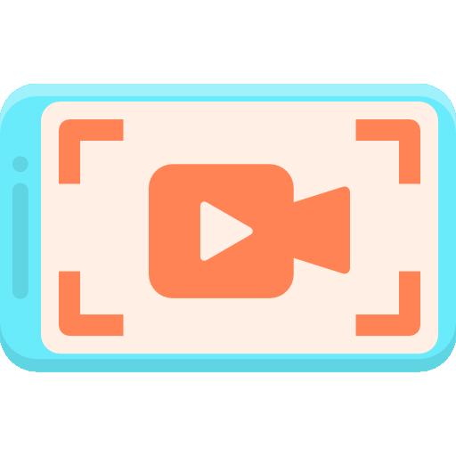 capture vidéo  Icône gratuit