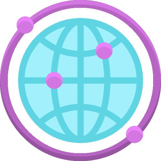 À l'échelle mondiale  Icône gratuit