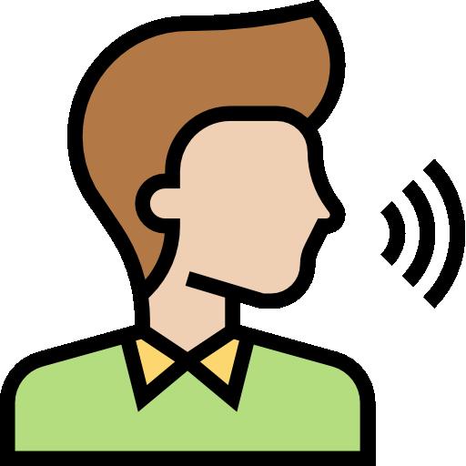 Voice command  free icon