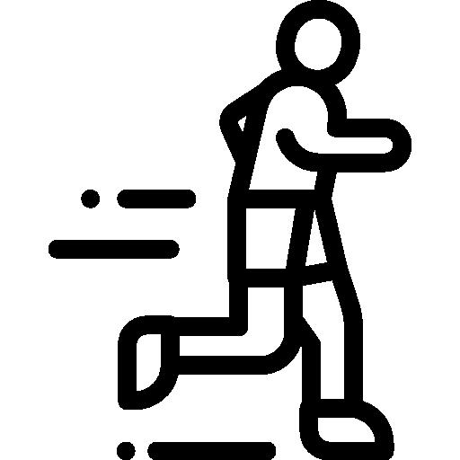 Jogging  free icon