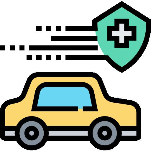 Car insurance  free icon