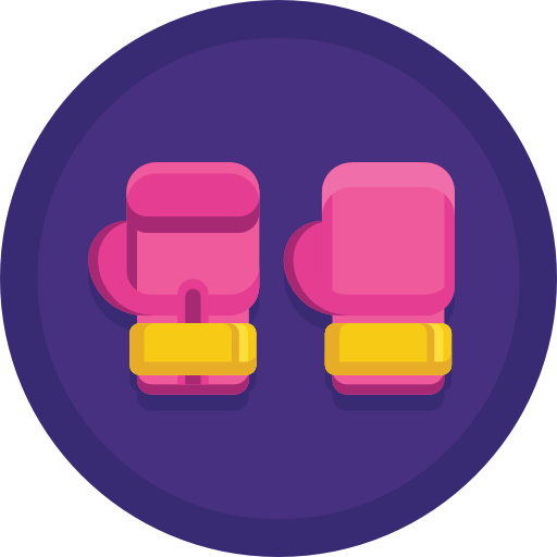 Боксерские перчатки  бесплатно иконка