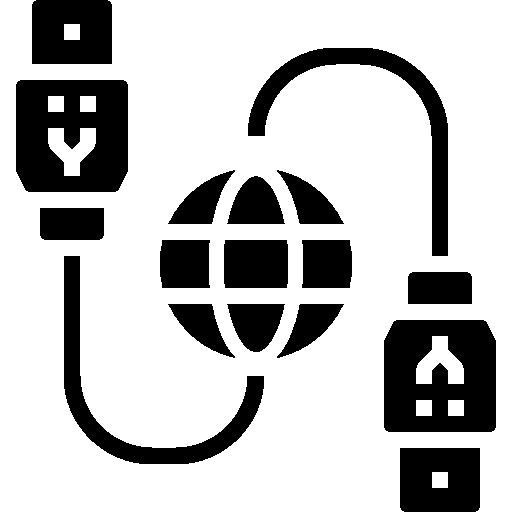 cabo usb  grátis ícone