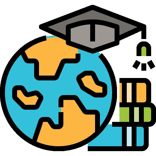 Онлайн-образование  бесплатно иконка