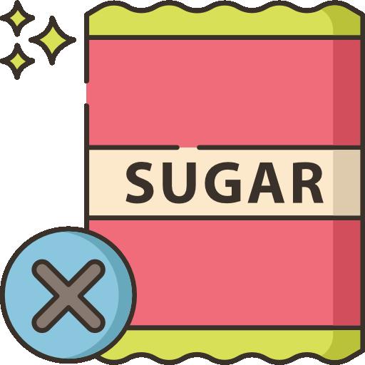 kein zucker  kostenlos Icon