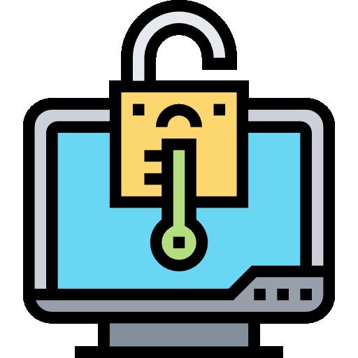 암호화 된 데이터  무료 아이콘