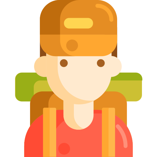 Backpacker  free icon