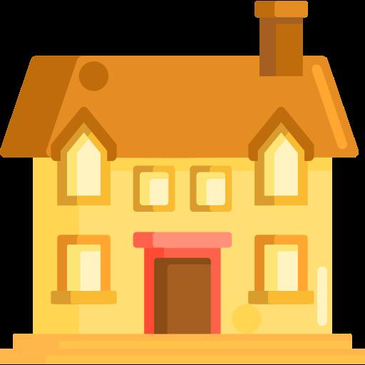 maison des invités  Icône gratuit