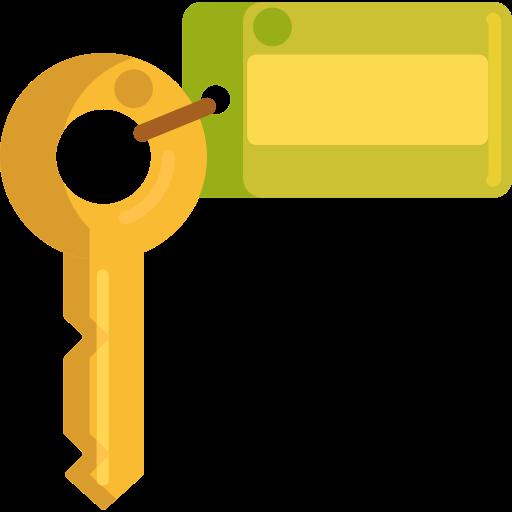 clef de chambre  Icône gratuit