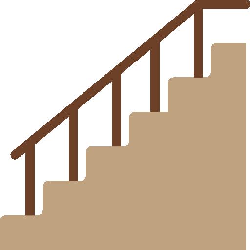 escaliers  Icône gratuit
