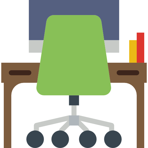 bureau  Icône gratuit