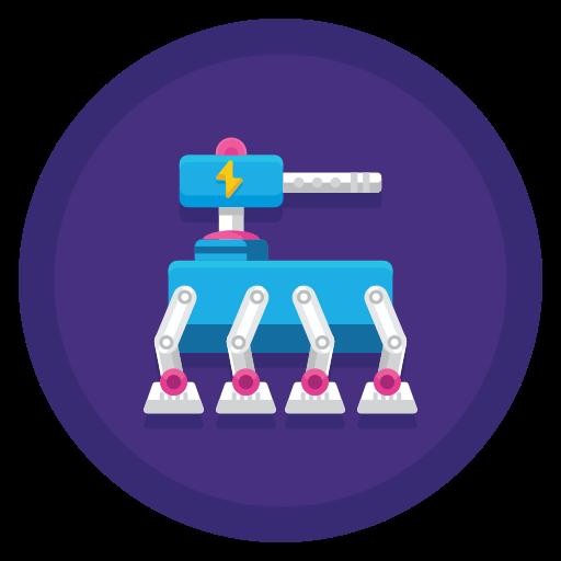 robô de guerra  grátis ícone