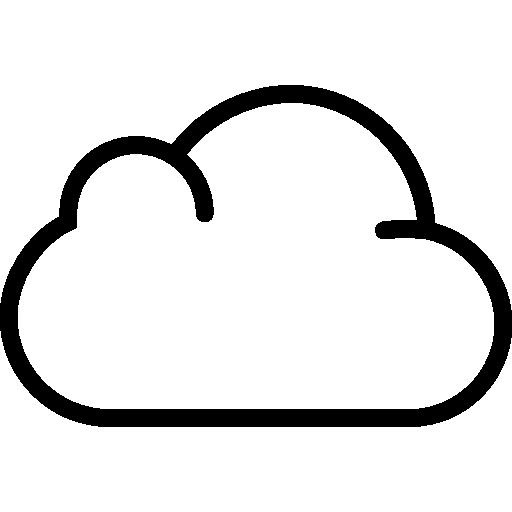 nube  icono gratis