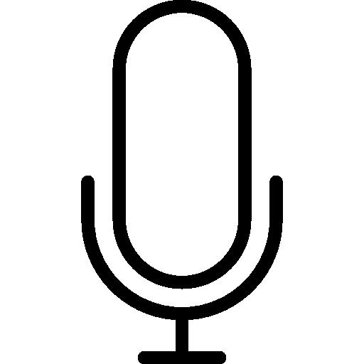 micrófono  icono gratis