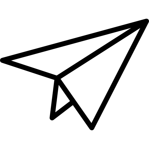 종이 비행기  무료 아이콘
