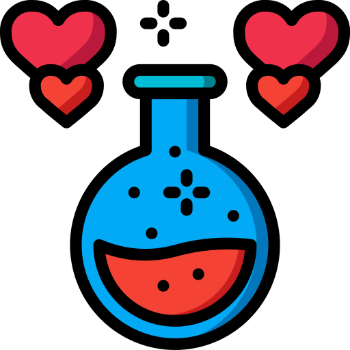 Love potion  free icon
