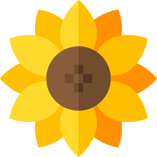 Girasol  icono gratis
