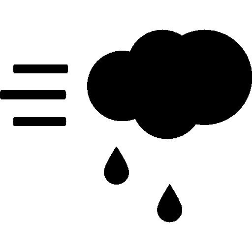 Дождь и ветер  бесплатно иконка