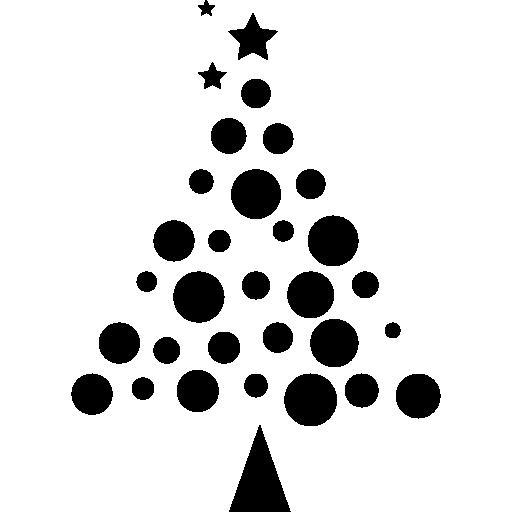 Елка из шаров  бесплатно иконка