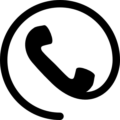 Телефонная ушная раковина с кабелем  бесплатно иконка