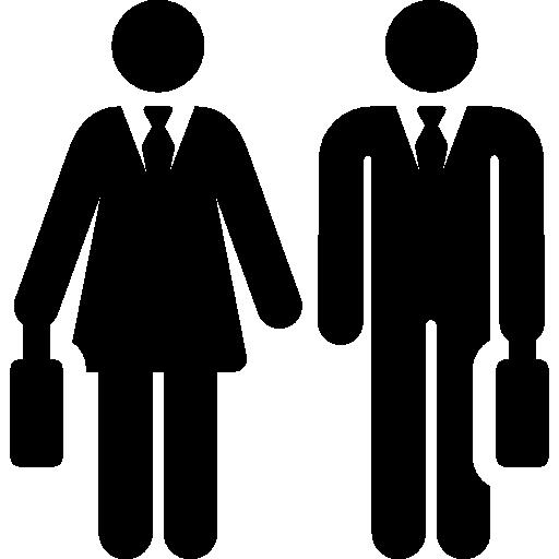 Businessmen  free icon