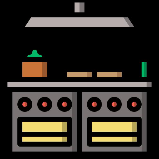 cuisine  Icône gratuit