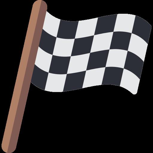 Bandera de carreras  icono gratis