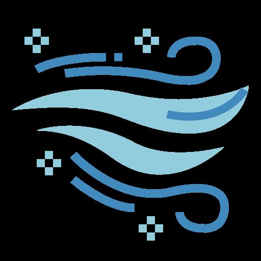 Viento  icono gratis