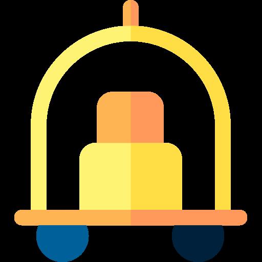 poussette d'hôtel  Icône gratuit