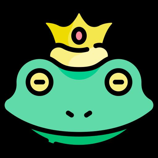 개구리 왕자  무료 아이콘