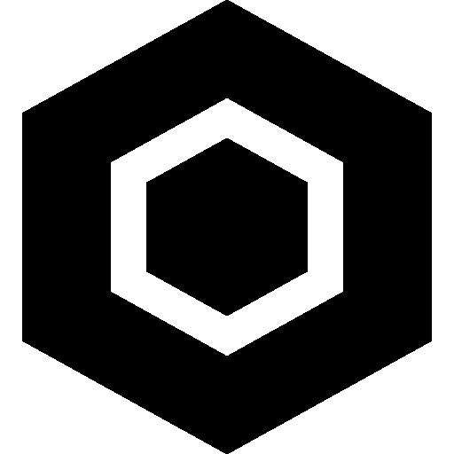 Hexagon  free icon